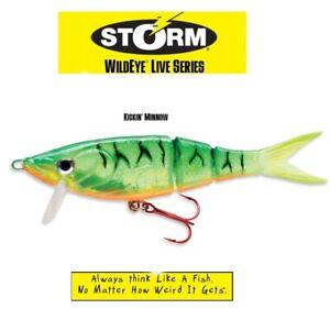 STORM KICKIN´ MINNOW 15cm 38g Fire Tiger