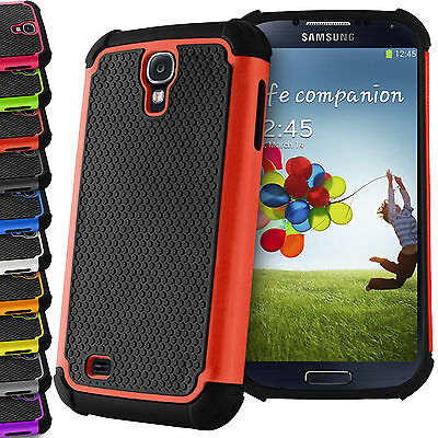 Shock Proof Hybrid Hard Silicone Builder Case Cover For Samsung Galaxy S3 S4 S5