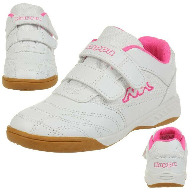 bea453380 Kappa Indoor Kickoff Children Indoor Shoes White/pink 260509K 10 for ...