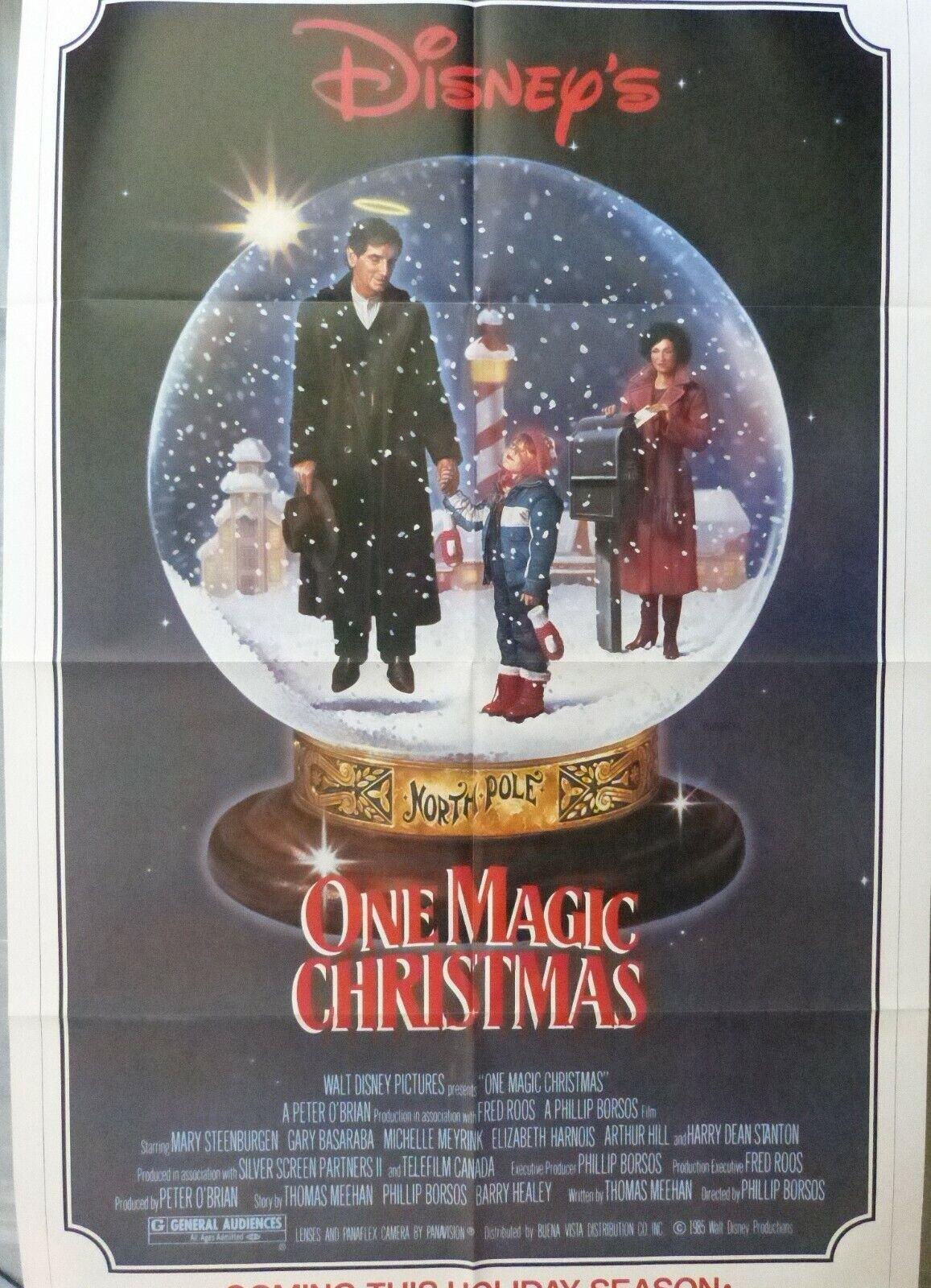 One Magic Christmas Movie Poster,1985,1-Sheet,Original,Arthur Hill