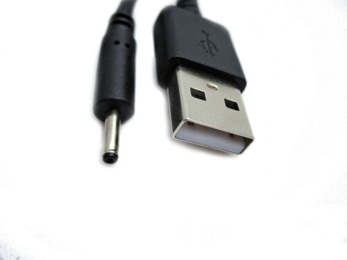 2m USB Black Charger Power Cable for Motorola MFV700 Camera Unit Baby Monitor