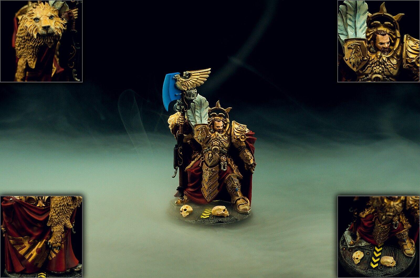 Captain-General Trajann Valoris -   Warhammer 40k Painted Commission  font des activités d'escompte