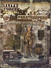 Action Figure 1/18 BBI Paratroopers Sgt Brookes US 173rd Airborne - Elite Force