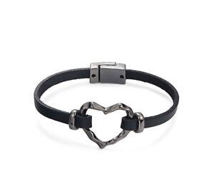 bracciale-cuore-pelle-Nero-unisex-cinturino-in-60348