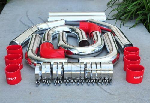 Transparent Red Hose /& Stainless Blue Banjos Pro Braking PBC2635-TRD-BLU Braided Clutch Line