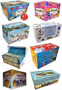 Children Books Collection Box Set Mr Men, Little Miss, Peter Rabbit, Dr Seuss