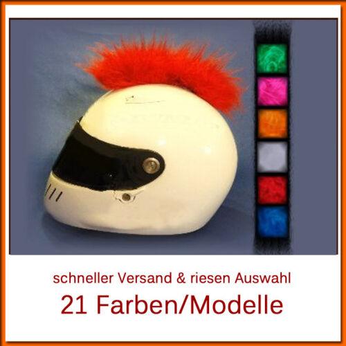 selezione del colore!!! CASCO Irokese punk casco di trafilatura IRO-Roller /& Casco MOTO-Gr