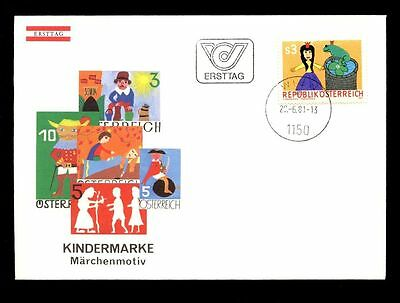 Austria Stamps Intelligent Austria 1981 Art Education In Schools Fdc #c2754 Cool In Summer And Warm In Winter