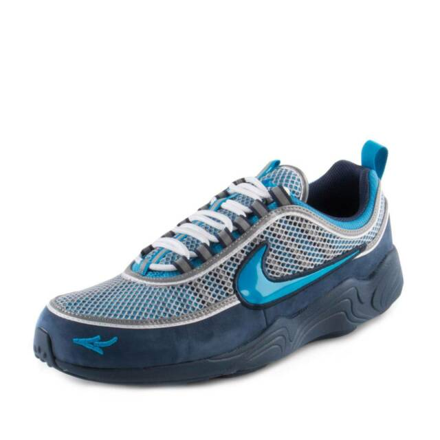 fe4c74be9dae4 Mens Nike X Stash Air Zoom Spiridon 16 Harbor Blue Heritage Cyan ...