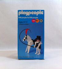 Nuevo 1974 Circo Vintage playpeople ✧ ✧ Caballo MARX juguetes Playmobil #1792