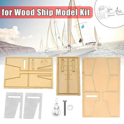 Dead Eyes Mooring Tools Fix Tool Stainless Steel for Wood Ship Model Kit Gift
