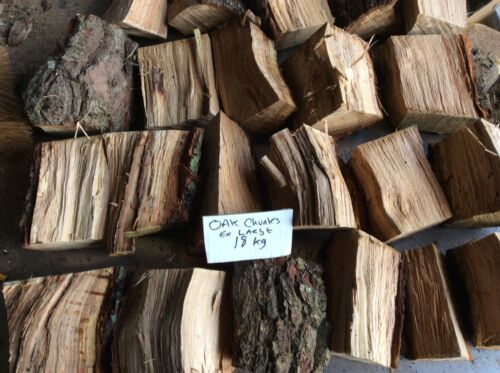 ex large Smoking Wood ,freepost oak wood,18 Kg+,oak  chunks
