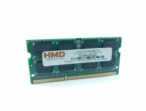 4gb Pc3-10600 Ddr3-1333 204-pin Sodimm Laptop Memory Ram