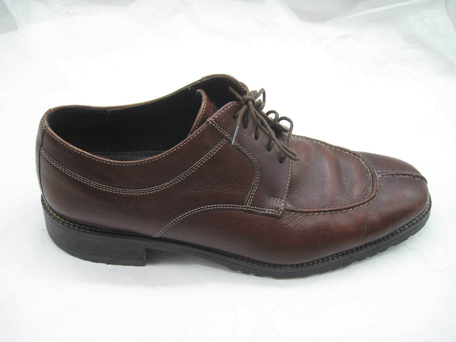 Cole Haan City brown split toe oxfords Mens dress formal shoes sz 10M C01626