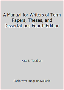 Thesis and dissertation 3rd edition