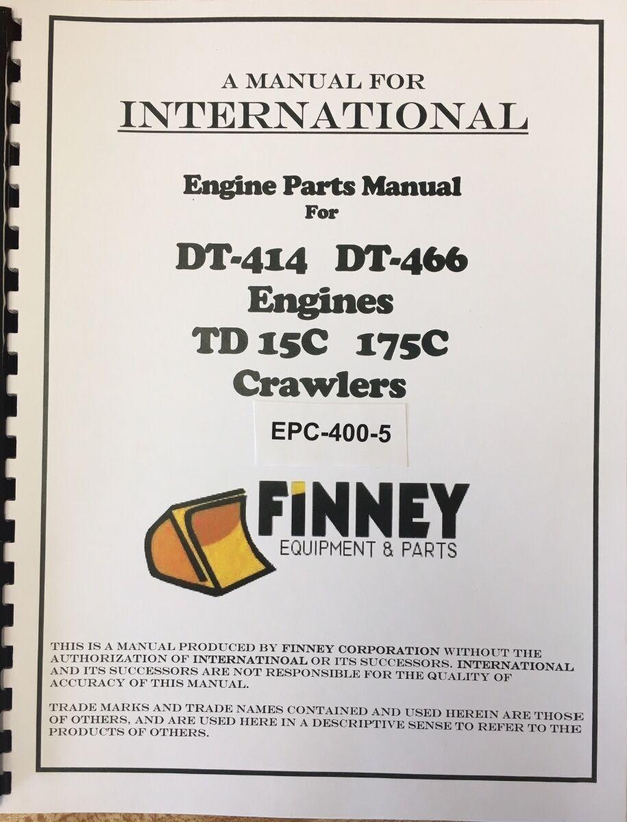 International Td15c Crawler Dozer Tractor Engine Parts Manual Book Basic Diagram Norton Secured Powered By Verisign