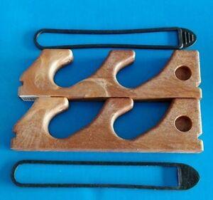 Coppia-porta-canne-pesca-fucili-stecche-da-parete-a-2-posti-in-simil-legno