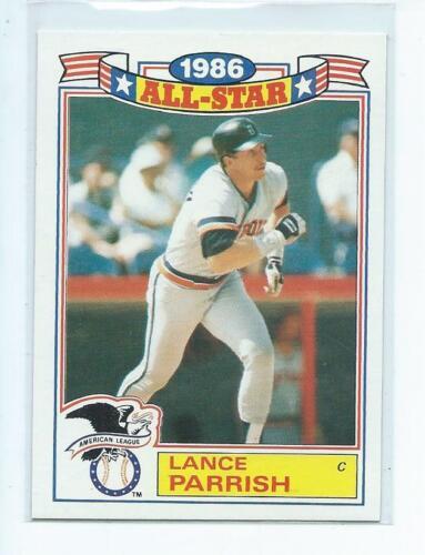 1987 Topps Glossy All-Stars  ~  Baseball Singles  ~  You Pick Choose