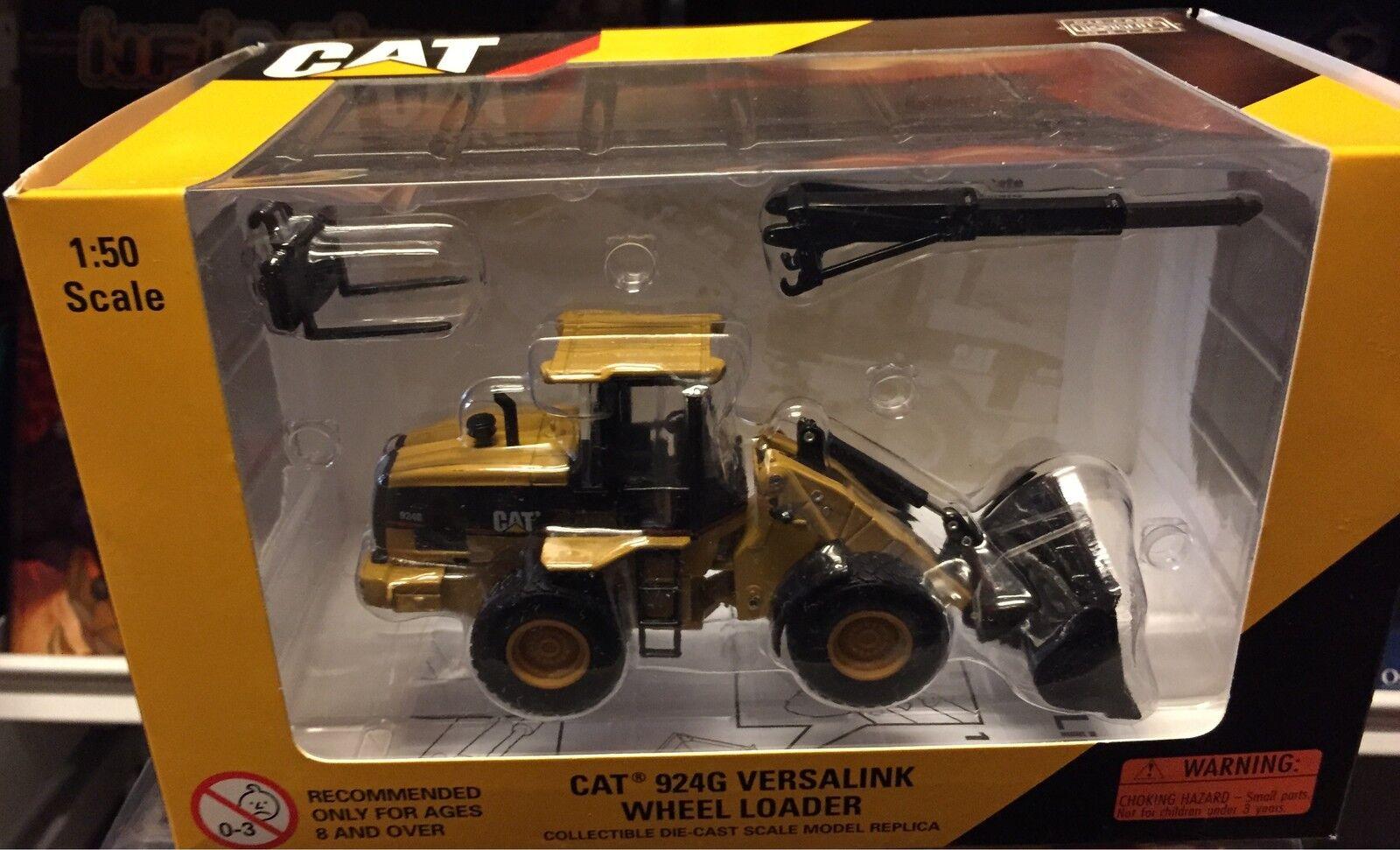 Norscot Cat 924G Versalink Wheel Loader Scale 1 50, Nuevo