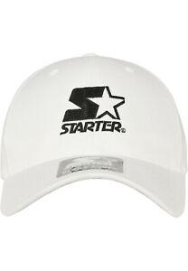 Starter Logo Flexfit Cap WHT weiss NEUWARE portofrei Gr.S/M & L/XL