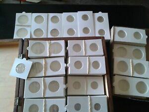 100-etuis-carton-pour-pieces-de-monnaies-4-x-25-100-pieces-Neuf