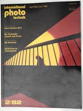(PRL) PHOTO TECHNIK INTERNATIONAL 2/82 1982 MITTELFORMAT ZENZA BRONICA SQ-A SQ A