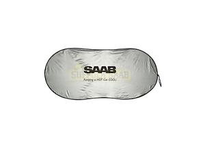 SAAB-GENUINE-WINDSHIELD-WINDSCREEN-SHADE-FOIL-RELECTIVE-SUNSHINE-RARE-SUFFOLK