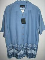 Ocean Pacific Short Sleeve Button Front Shirt Large