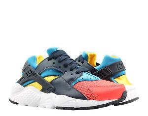 Nike Huarache Run Now Sneakers Boys Black;Yellow