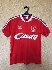 RARE LIVERPOOL ENGLAND 1988/1989 CANDY HOME FOOTBALL SHIRT JERSEY MAGLIA ADIDAS