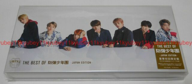 New THE BEST OF BTS Japan Edition First Limited Edition CD DVD Japan PCCA-4488