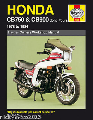 Honda CB 900 F2C (D.O.H.C.) 1982 Haynes manual