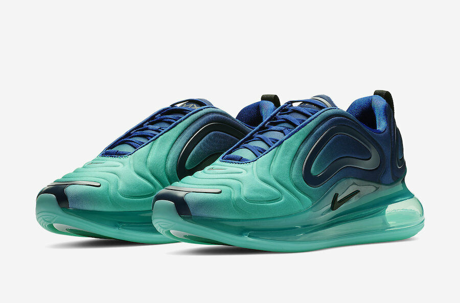 NIKE AIR MAX 720  verde CARBON  uomo US Dimensione 11 STYLE   AO2924-400