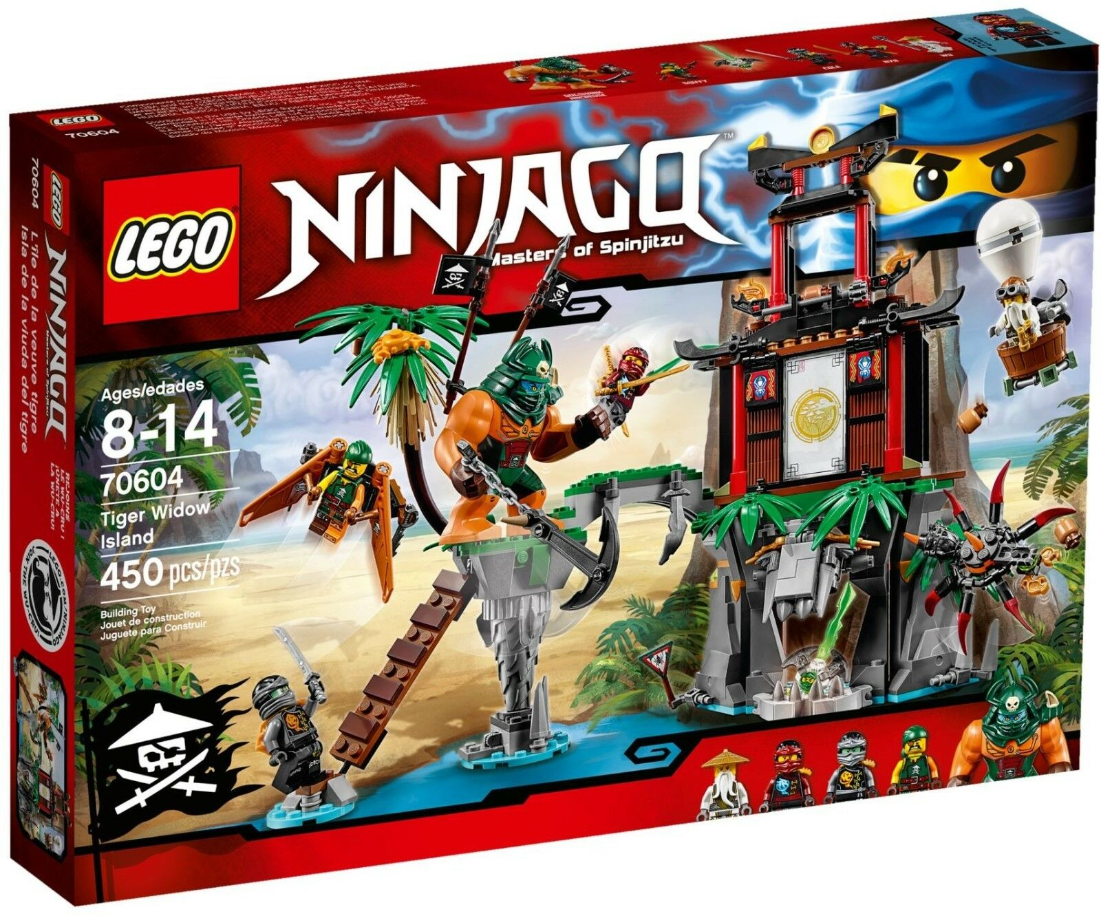 Lego 70604 Tiger Widow Island Brand New In Sealed Box ※SAME DAY DESPATCHED※