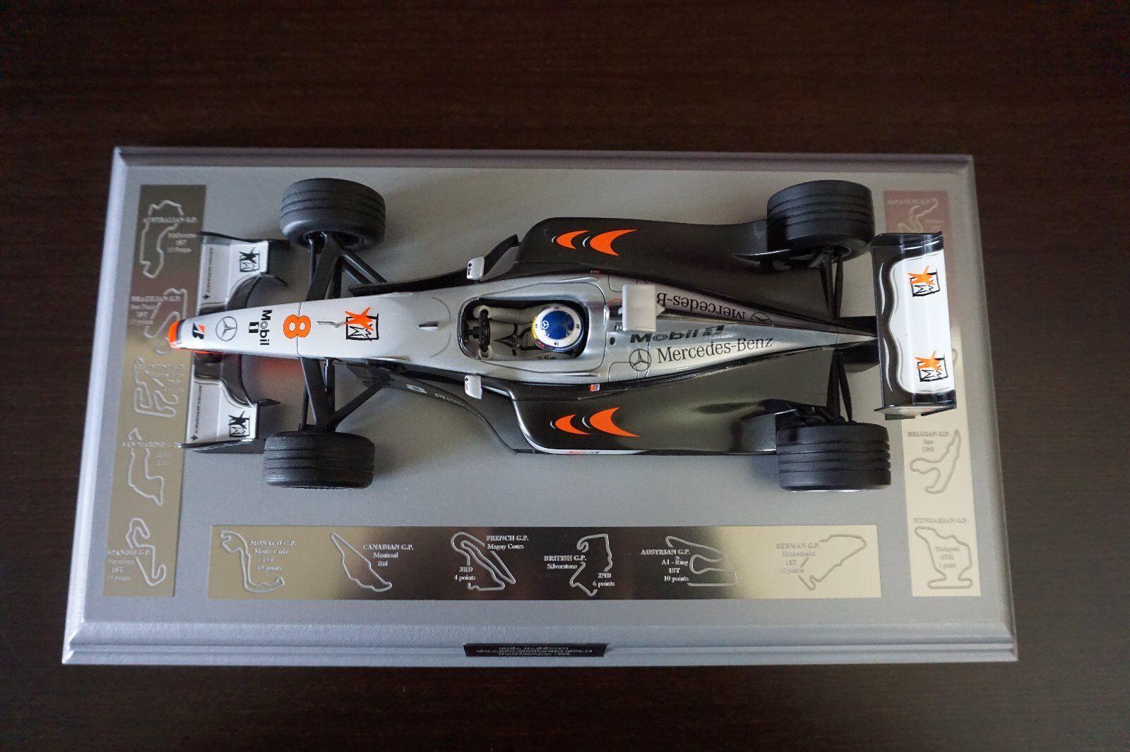 Mika Hakkinen Minichamps Minichamps Minichamps 1 18 Scale McLaren Mercedes MP4-13 1998 60e314