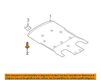 AUDI OEM 15-16 A3 Splash Shield-Under Engine//Radiator Cover 5Q0825236Q