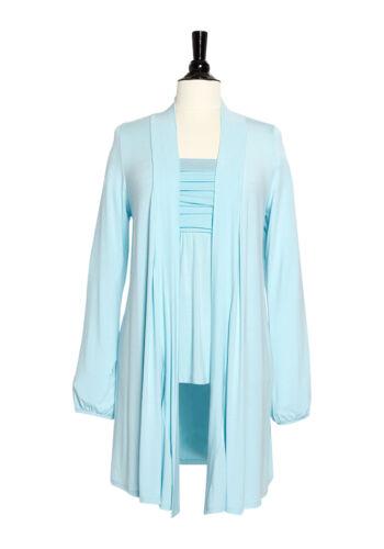 Apart Verschlusslose Shirt Veste AQUA KP 49,90 € SOLDES/%/%/% Neuf!!
