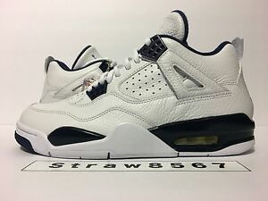 7a83c59dfb98b5 ... navy blue online e9a0c 55f80  where to buy image is loading 2014 ds air  jordan retro 4 ls size 35280 4afb0
