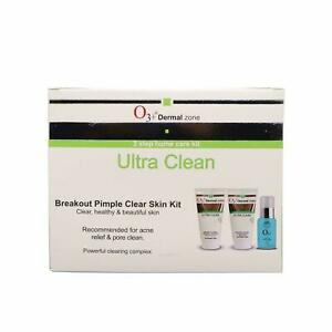 O3+ Ultra Clean Breakout Pimple Clear Skin Kit for Healthy & Beautiful skin 150g