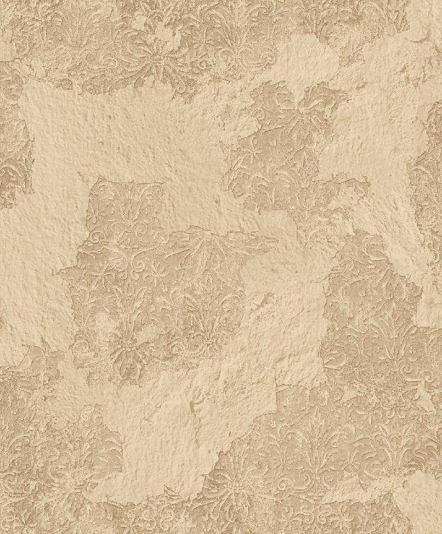 Essener Tapete Grunge G45379 Vieux Mur Ornament Papier Peint Beige
