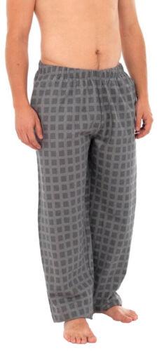 Da Uomo Modern Casuals Verificato Pigiama Pantaloni Bottoms Abbigliamento da Notte Nightwear