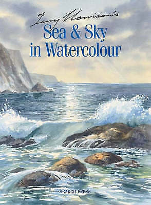Terry Harrison's Sea & Sky in Watercolour-ExLibrary