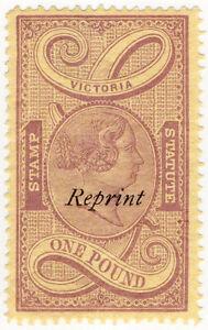 I-B-Australia-Victoria-Revenue-Stamp-Statute-1-1891-reprint