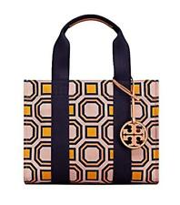 64577629793 Tory Burch Ballet Pink OCTAGON Square Tote   Match Miller Sandals Size 8 Set