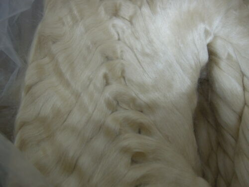 Silk Tussah tops 50100150gms spin dye felt natural paper making