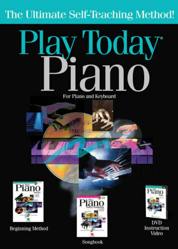 Play Piano Today Complete Kit Includes Everything You Need to Play NEW 000702997