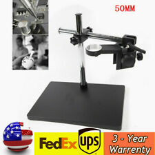Us Boom Large Stereo Table Stand 50mm Ring Heavy Duty For Microscope Holder Sale