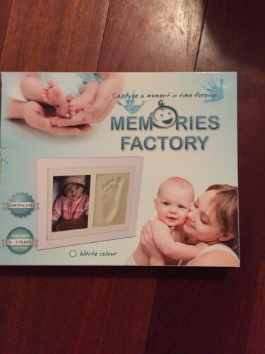 Memory's Factory Plaster Print Kit