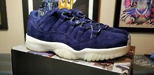 7596951362f Jordan 11 Retro Low Jeter Re2pect XI Binary Blue DS Deadstock Size ...