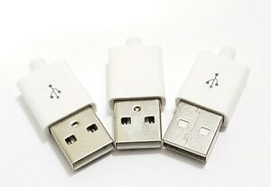 3-Pcs-USB-Type-A-DIY-Male-Connector-for-repairing-white-Apple-lightning-cable